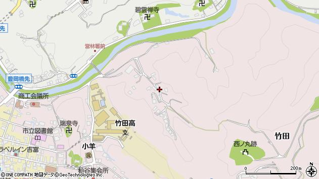 大分県竹田市竹田2778周辺の地図