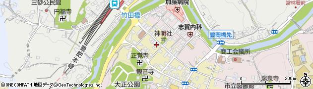 大分県竹田市竹田町583周辺の地図