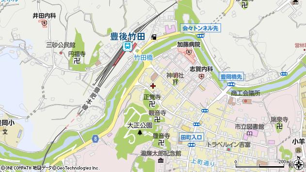 大分県竹田市竹田町1801周辺の地図