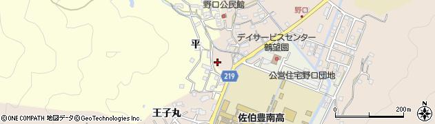 大分県佐伯市鶴望2970周辺の地図