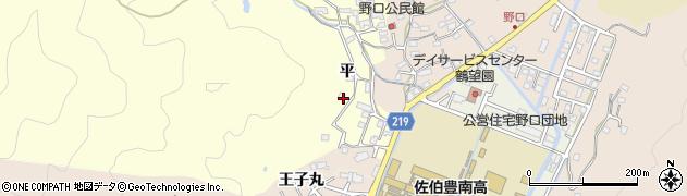 大分県佐伯市鶴望3008周辺の地図