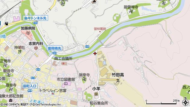大分県竹田市竹田1933周辺の地図