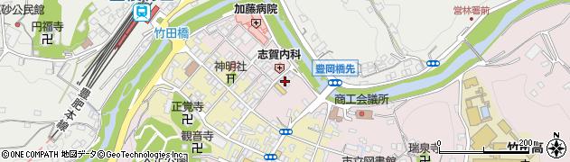 大分県竹田市竹田1895周辺の地図