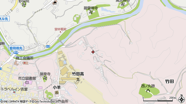 大分県竹田市竹田2730周辺の地図
