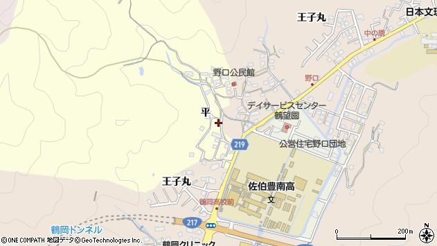 大分県佐伯市鶴望2943周辺の地図