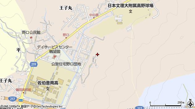 大分県佐伯市鶴望4182周辺の地図