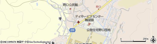 大分県佐伯市鶴望3160周辺の地図