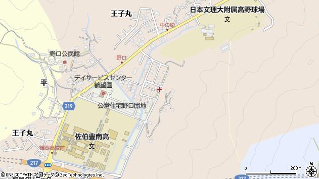 大分県佐伯市鶴望1450周辺の地図