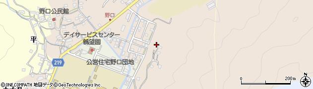 大分県佐伯市鶴望4184周辺の地図