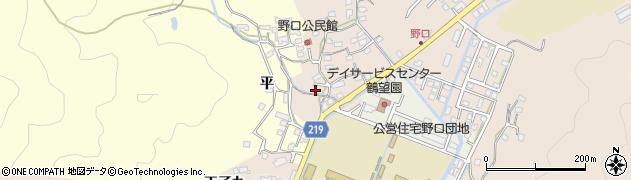 大分県佐伯市鶴望3155周辺の地図
