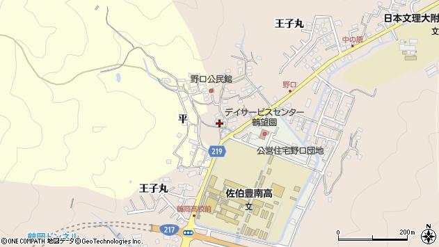 大分県佐伯市鶴望3156周辺の地図
