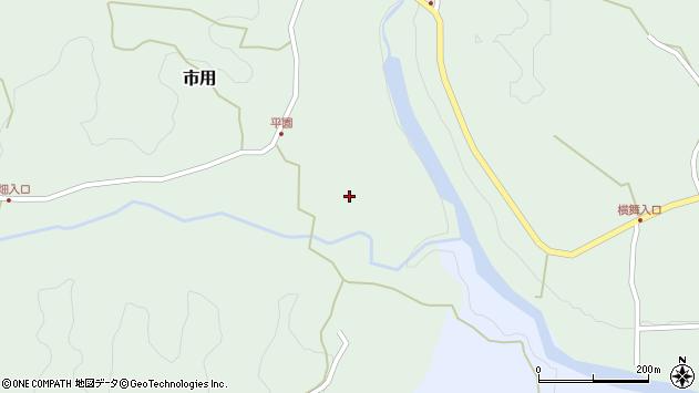 大分県竹田市市用495周辺の地図