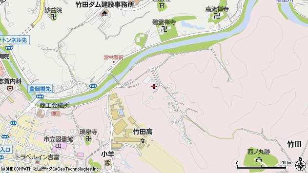 大分県竹田市竹田2726周辺の地図