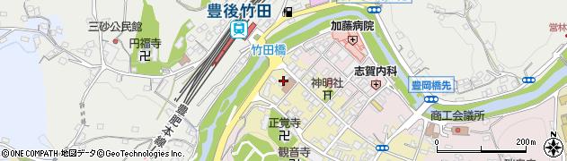 大分県竹田市竹田町572周辺の地図