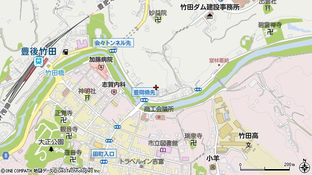 大分県竹田市会々2179周辺の地図