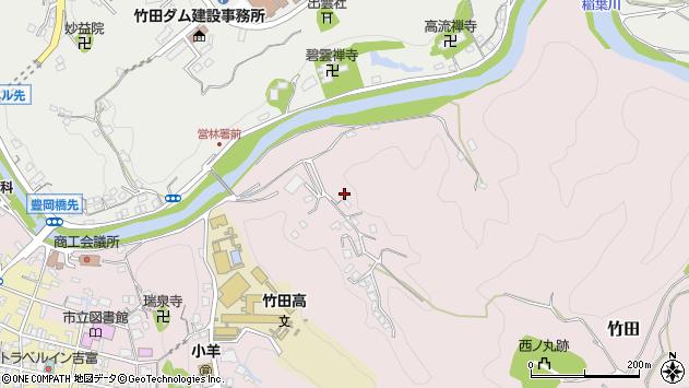 大分県竹田市竹田2722周辺の地図
