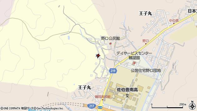 大分県佐伯市鶴望2995周辺の地図