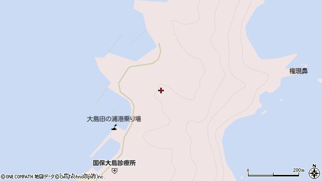 大分県佐伯市鶴見大字大島船隠周辺の地図