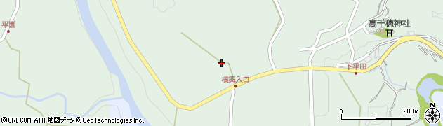 大分県竹田市平田1176周辺の地図