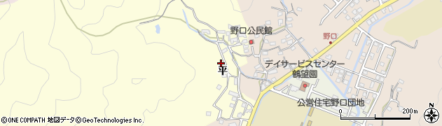 大分県佐伯市鶴望2989周辺の地図
