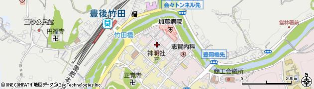 大分県竹田市竹田1872周辺の地図