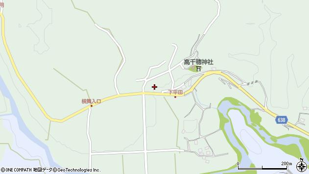大分県竹田市平田915周辺の地図