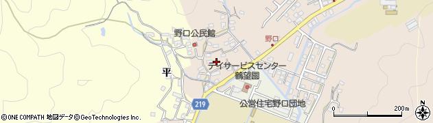 大分県佐伯市鶴望3185周辺の地図