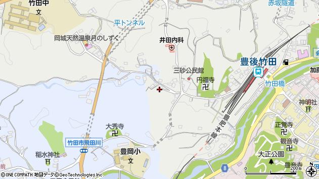 大分県竹田市会々2520周辺の地図