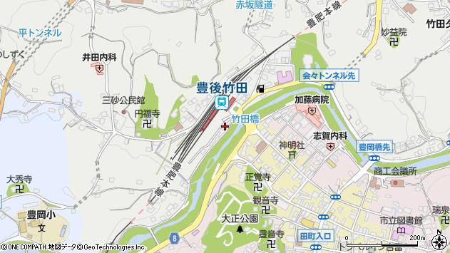 大分県竹田市会々2376周辺の地図