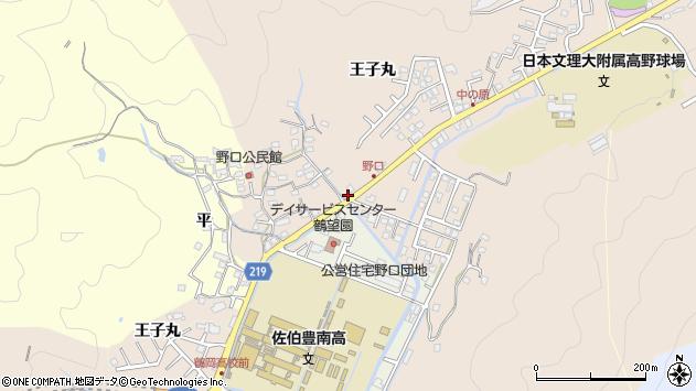 大分県佐伯市鶴望3437周辺の地図