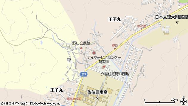 大分県佐伯市鶴望3193周辺の地図