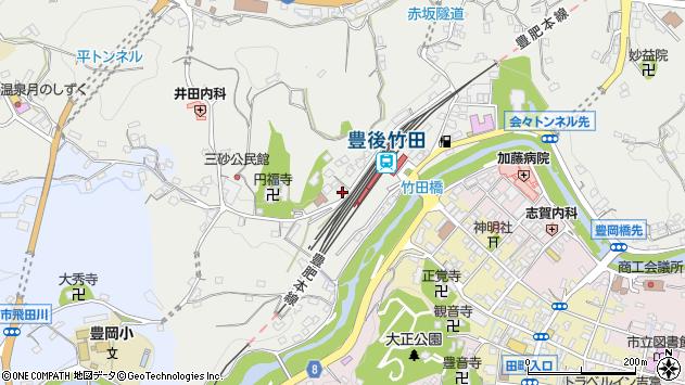 大分県竹田市会々2362周辺の地図
