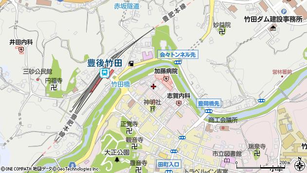大分県竹田市竹田1870周辺の地図