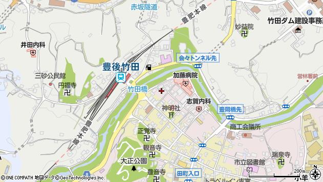 大分県竹田市竹田1820周辺の地図