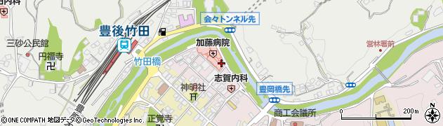 大分県竹田市竹田1857周辺の地図