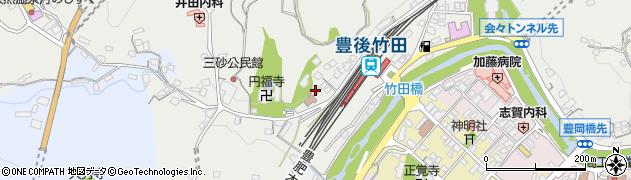 大分県竹田市会々2360周辺の地図