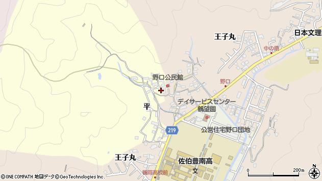 大分県佐伯市鶴望3141周辺の地図