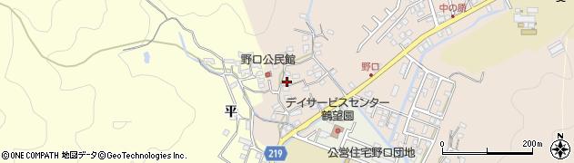 大分県佐伯市鶴望3211周辺の地図