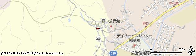 大分県佐伯市鶴望2984周辺の地図