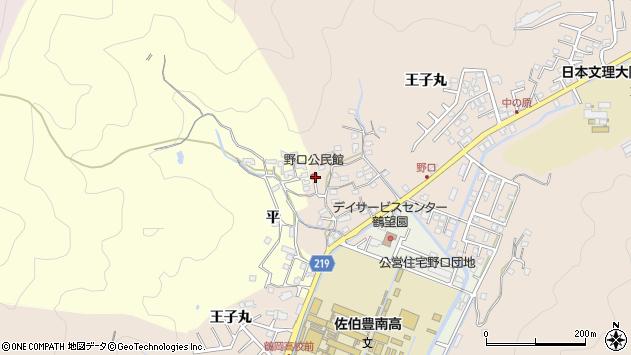 大分県佐伯市鶴望3216周辺の地図