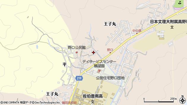 大分県佐伯市鶴望3200周辺の地図