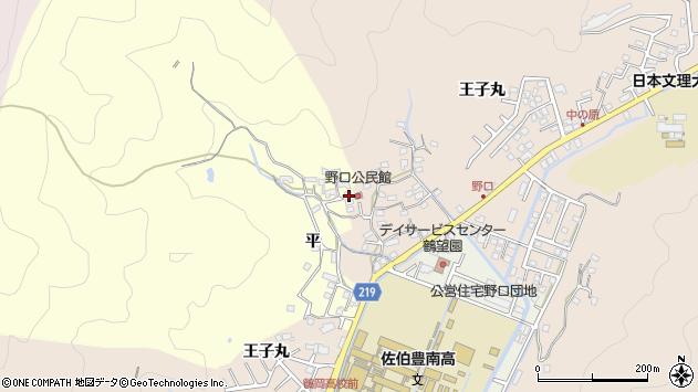 大分県佐伯市鶴望3135周辺の地図