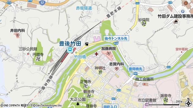 大分県竹田市竹田1824周辺の地図