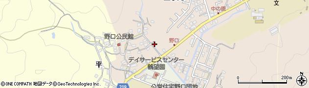大分県佐伯市鶴望3436周辺の地図