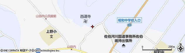大分県佐伯市弥生大字井崎2525周辺の地図