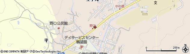 大分県佐伯市鶴望3458周辺の地図