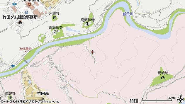 大分県竹田市竹田2838周辺の地図