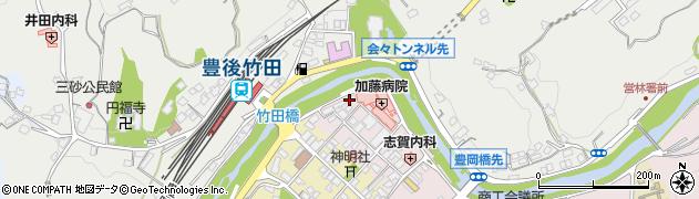 大分県竹田市竹田1835周辺の地図
