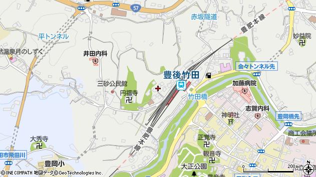 大分県竹田市会々2354周辺の地図