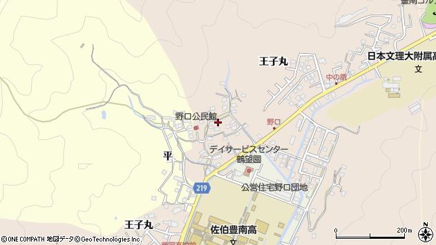 大分県佐伯市鶴望3208周辺の地図